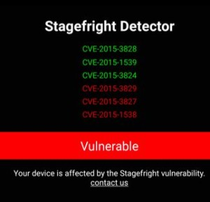 stagefright android check