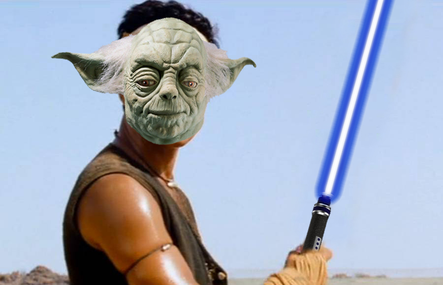 aamir khan as yoda