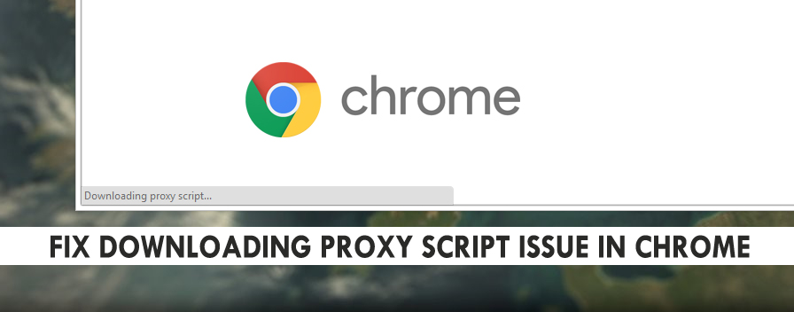 fix downloading proxy script chrome
